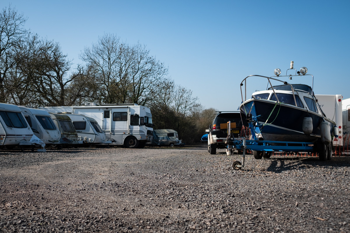 Motorhome caravan boat storage in Bristol, Somerset