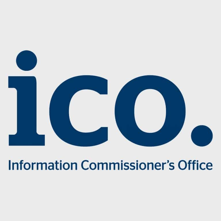 ICO - Information Commissioner's Office certified company - GDPR compliant certificate