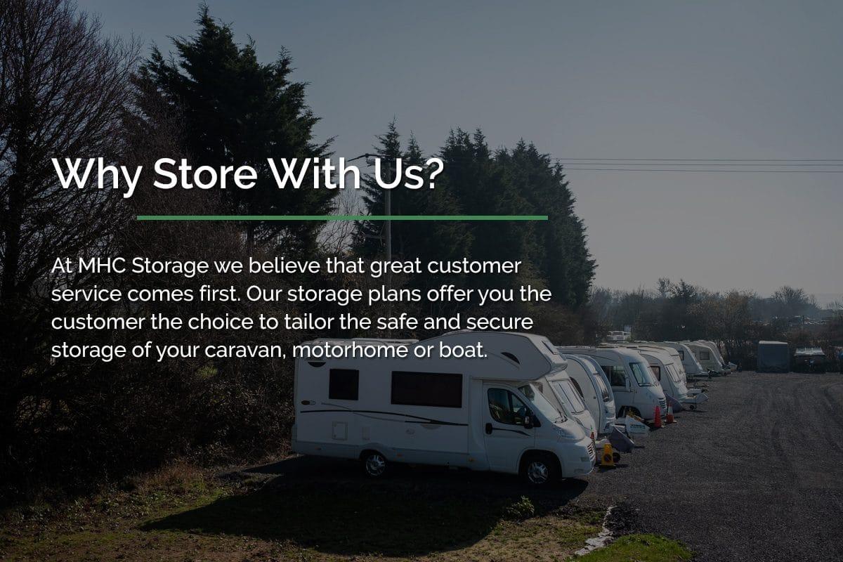 Motorhome storage Bristol - MHC Storage