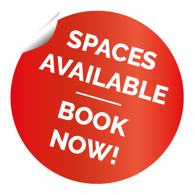 Storage Space Available - book now